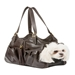 Metro Couture Carrier in Chocolate with Tassle - pet-metrochoc