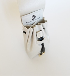 Mia Bella Collection-Ivory & Black-Ultimate Poop Bag Dispenser     susan lanci, puppia,wooflink, luxury dog boutique,tonimari,pet clothes, dog clothes, puppy clothes, pet store, dog store, puppy boutique store, dog boutique, pet boutique, puppy boutique, Bloomingtails, dog, small dog clothes, large dog clothes, large dog costumes, small dog costumes, pet stuff, Halloween dog, puppy Halloween, pet Halloween, clothes, dog puppy Halloween, dog sale, pet sale, puppy sale, pet dog tank, pet tank, pet shirt, dog shirt, puppy shirt,puppy tank, I see spot, dog collars, dog leads, pet collar, pet lead,puppy collar, puppy lead, dog toys, pet toys, puppy toy, dog beds, pet beds, puppy bed,  beds,dog mat, pet mat, puppy mat, fab dog pet sweater, dog sweater, dog winter, pet winter,dog raincoat, pet raincoat, dog harn