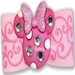 Dog Bows-Minnie in Pink Dog Hair Bow  - hb-minniepink