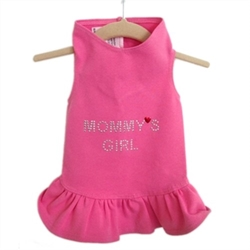 Mommys Girl Dog Dress in Many Colors