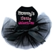 Mommy's Little Valentine Dog Tutu in Many Colors  - dic-momvalentine