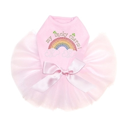 My Lucky Charm Tutu Dress in 3 Colors  wooflink, susan lanci, dog clothes, small dog clothes, urban pup, pooch outfitters, dogo, hip doggie, doggie design, small dog dress, pet clotes, dog boutique. pet boutique, bloomingtails dog boutique, dog raincoat, dog rain coat, pet raincoat, dog shampoo, pet shampoo, dog bathrobe, pet bathrobe, dog carrier, small dog carrier, doggie couture, pet couture, dog football, dog toys, pet toys, dog clothes sale, pet clothes sale, shop local, pet store, dog store, dog chews, pet chews, worthy dog, dog bandana, pet bandana, dog halloween, pet halloween, dog holiday, pet holiday, dog teepee, custom dog clothes, pet pjs, dog pjs, pet pajamas, dog pajamas,dog sweater, pet sweater, dog hat, fabdog, fab dog, dog puffer coat, dog winter jacket, dog col