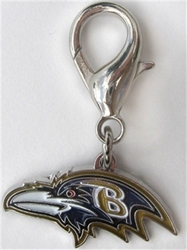 NFL Dog Charm - Baltimore Ravens