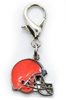 NFL Dog Charm - Cleveland Browns Roxy & Lulu, wooflink, susan lanci, dog clothes, small dog clothes, urban pup, pooch outfitters, dogo, hip doggie, doggie design, small dog dress, pet clotes, dog boutique. pet boutique, bloomingtails dog boutique, dog raincoat, dog rain coat, pet raincoat, dog shampoo, pet shampoo, dog bathrobe, pet bathrobe, dog carrier, small dog carrier, doggie couture, pet couture, dog football, dog toys, pet toys, dog clothes sale, pet clothes sale, shop local, pet store, dog store, dog chews, pet chews, worthy dog, dog bandana, pet bandana, dog halloween, pet halloween, dog holiday, pet holiday, dog teepee, custom dog clothes, pet pjs, dog pjs, pet pajamas, dog pajamas,dog sweater, pet sweater, dog hat, fabdog, fab dog, dog puffer coat, dog winter ja
