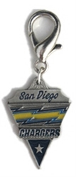 NFL Dog Charm - San Diego Chargers