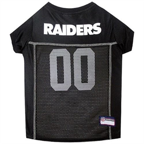 NFL Mesh Dog Jersey - Oakland Raiders - dn-raiders-jersey
