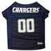 NFL Mesh Dog Jersey - San Diego Chargers - dn-chargers-jersey