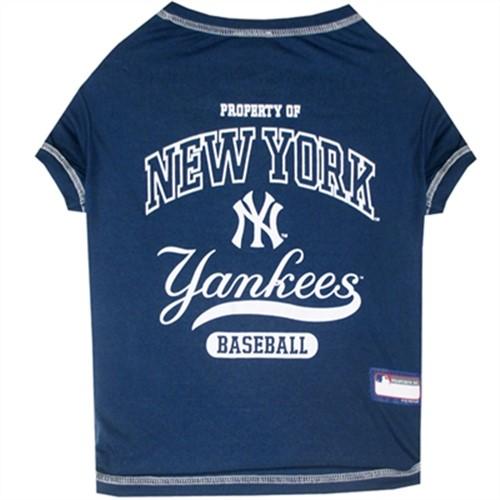NY Yankees MLB Pet Shirt-Bloomingtails Dog boutique 07d91f15f6c