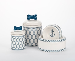 Nautical Dog Bowls & Treat Jars   puppy bed,  bedsdog mat, pet mat, puppy mat, fab dog pet sweater, dog swepet clothes, dog clothes, puppy clothes, pet store, dog store, puppy boutique store, dog boutique, pet boutique, puppy boutique, Bloomingtails, dog, small dog clothes, large dog clothes, large dog costumes, small dog costumes, pet stuff, Halloween dog, puppy Halloween, pet Halloween, clothes, dog puppy Halloween, dog sale, pet sale, puppy sale, pet dog tank, pet tank, pet shirt, dog shirt, puppy shirt,puppy tank, I see spot, dog collars, dog leads, pet collar, pet lead,puppy collar, puppy lead, dog toys, pet toys, puppy toy, dog beds, pet beds, puppy bed,  beds,dog mat, pet mat, puppy mat, fab dog pet sweater, dog sweater, dog winter, pet winter,dog raincoat, pet rai
