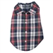 Navy Plaid Dog Shirt    - wd-navy-shirt