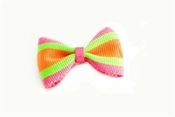 Neon Stripe Designer Dog Bows wooflink, susan lanci, dog clothes, small dog clothes, urban pup, pooch outfitters, dogo, hip doggie, doggie design, small dog dress, pet clotes, dog boutique. pet boutique, bloomingtails dog boutique, dog raincoat, dog rain coat, pet raincoat, dog shampoo, pet shampoo, dog bathrobe, pet bathrobe, dog carrier, small dog carrier, doggie couture, pet couture, dog football, dog toys, pet toys, dog clothes sale, pet clothes sale, shop local, pet store, dog store, dog chews, pet chews, worthy dog, dog bandana, pet bandana, dog halloween, pet halloween, dog holiday, pet holiday, dog teepee, custom dog clothes, pet pjs, dog pjs, pet pajamas, dog pajamas,dog sweater, pet sweater, dog hat, fabdog, fab dog, dog puffer coat, dog winter jacket, dog col