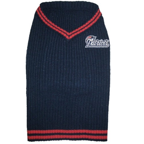 New England Patriots Dog Sweater - dn-nesweater