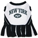 New York Jets Cheerleader Dog Dress - dn-nyjets-dress