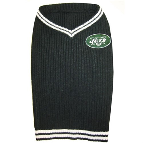 New York Jets Dog Sweater - dn-nyj-sweater