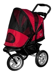 Next Generation AT3 All Terrain Stroller in Red
