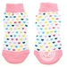 Non Skid Dog Socks - Pink Hearts - dogdes-pink-sock