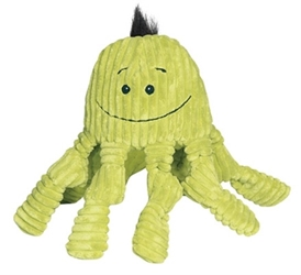 Octopus Knottie Dog Toy in Citron
