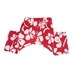 Okinawa Dog Swim Trunks  - PO-okinawa-trunks