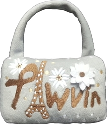 PAWVIN - EiffelTower Minaudiere Purse Dog Toy   dog bowls,susan lanci, puppia,wooflink, luxury dog boutique,tonimari,pet clothes, dog clothes, puppy clothes, pet store, dog store, puppy boutique store, dog boutique, pet boutique, puppy boutique, Bloomingtails, dog, small dog clothes, large dog clothes, large dog costumes, small dog costumes, pet stuff, Halloween dog, puppy Halloween, pet Halloween, clothes, dog puppy Halloween, dog sale, pet sale, puppy sale, pet dog tank, pet tank, pet shirt, dog shirt, puppy shirt,puppy tank, I see spot, dog collars, dog leads, pet collar, pet lead,puppy collar, puppy lead, dog toys, pet toys, puppy toy, dog beds, pet beds, puppy bed,  beds,dog mat, pet mat, puppy mat, fab dog pet sweater, dog sweater, dog winter, pet winter,dog raincoat, pet raincoat