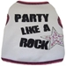 Party Like A Rock Star Rhinestone Tank Shirt - iss-partyrockstarX-JHF