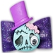 Dog Bows-Party Monster Hair Bow   - hb-monster-bow