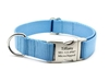 Personalized Collar & Lead in Ice Blue