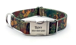 Personalized Forest Camo Polyester Collar & Lead Roxy & Lulu, wooflink, susan lanci, dog clothes, small dog clothes, urban pup, pooch outfitters, dogo, hip doggie, doggie design, small dog dress, pet clotes, dog boutique. pet boutique, bloomingtails dog boutique, dog raincoat, dog rain coat, pet raincoat, dog shampoo, pet shampoo, dog bathrobe, pet bathrobe, dog carrier, small dog carrier, doggie couture, pet couture, dog football, dog toys, pet toys, dog clothes sale, pet clothes sale, shop local, pet store, dog store, dog chews, pet chews, worthy dog, dog bandana, pet bandana, dog halloween, pet halloween, dog holiday, pet holiday, dog teepee, custom dog clothes, pet pjs, dog pjs, pet pajamas, dog pajamas,dog sweater, pet sweater, dog hat, fabdog, fab dog, dog puffer coat, dog winter ja