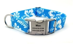 Personalized Hawaiian Light Blue Polyester Collar & Lead-Blue [clone] Roxy & Lulu, wooflink, susan lanci, dog clothes, small dog clothes, urban pup, pooch outfitters, dogo, hip doggie, doggie design, small dog dress, pet clotes, dog boutique. pet boutique, bloomingtails dog boutique, dog raincoat, dog rain coat, pet raincoat, dog shampoo, pet shampoo, dog bathrobe, pet bathrobe, dog carrier, small dog carrier, doggie couture, pet couture, dog football, dog toys, pet toys, dog clothes sale, pet clothes sale, shop local, pet store, dog store, dog chews, pet chews, worthy dog, dog bandana, pet bandana, dog halloween, pet halloween, dog holiday, pet holiday, dog teepee, custom dog clothes, pet pjs, dog pjs, pet pajamas, dog pajamas,dog sweater, pet sweater, dog hat, fabdog, fab dog, dog puffer coat, dog winter ja