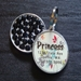 Personalized Pet Rhinestone  ID Tag - Asian Sprout - petel-asianspr