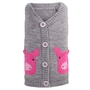 Pig Cardigan Dog Sweater  pet clothes, dog clothes, puppy clothes, pet store, dog store, puppy boutique store, dog boutique, pet boutique, puppy boutique, Bloomingtails, dog, small dog clothes, large dog clothes, large dog costumes, small dog costumes, pet stuff, Halloween dog, puppy Halloween, pet Halloween, clothes, dog puppy Halloween, dog sale, pet sale, puppy sale, pet dog tank, pet tank, pet shirt, dog shirt, puppy shirt,puppy tank, I see spot, dog collars, dog leads, pet collar, pet lead,puppy collar, puppy lead, dog toys, pet toys, puppy toy, dog beds, pet beds, puppy bed,  beds,dog mat, pet mat, puppy mat, fab dog pet sweater, dog sweater, dog winter, pet winter,dog raincoat, pet raincoat, dog harness, puppy harness, pet harness, dog collar, dog lead, pet l