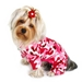 Pink Camo Fleece Dog Pajamas - klip-camo-pj