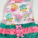 Pink Dancing Baby Owls Dog Pajamas - tm-pinkdanceS-FAS