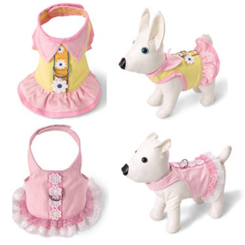 Pink Dog Harness Dress