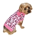 Pink Leopard Dog Sweater - daldog-leopd