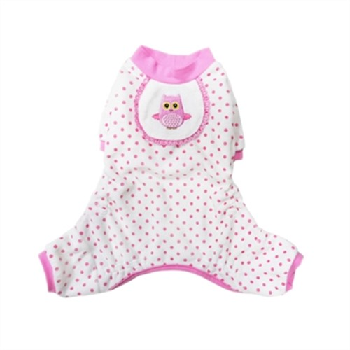 Pink Owl Dog Pajamas - PO-pkowl-pj