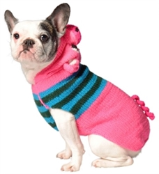 Pink Piggy Hoodie Dog Sweater       dog bowls,susan lanci, puppia,wooflink, luxury dog boutique,tonimari,pet clothes, dog clothes, puppy clothes, pet store, dog store, puppy boutique store, dog boutique, pet boutique, puppy boutique, Bloomingtails, dog, small dog clothes, large dog clothes, large dog costumes, small dog costumes, pet stuff, Halloween dog, puppy Halloween, pet Halloween, clothes, dog puppy Halloween, dog sale, pet sale, puppy sale, pet dog tank, pet tank, pet shirt, dog shirt, puppy shirt,puppy tank, I see spot, dog collars, dog leads, pet collar, pet lead,puppy collar, puppy lead, dog toys, pet toys, puppy toy, dog beds, pet beds, puppy bed,  beds,dog mat, pet mat, puppy mat, fab dog pet sweater, dog sweater, dog winter, pet winter,dog raincoat, pet raincoat
