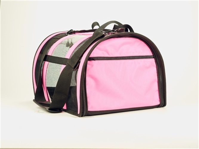 Pink Puppy Shell Carrier   - push-pink-carrier