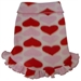 Pink & Red Hearts Fleece Dog Pullover  - iss-pinkhearts-pulloverS-PEE