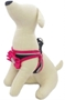Pink Ribbon GLO Harness  dog bowls,susan lanci, puppia,wooflink, luxury dog boutique,tonimari,pet clothes, dog clothes, puppy clothes, pet store, dog store, puppy boutique store, dog boutique, pet boutique, puppy boutique, Bloomingtails, dog, small dog clothes, large dog clothes, large dog costumes, small dog costumes, pet stuff, Halloween dog, puppy Halloween, pet Halloween, clothes, dog puppy Halloween, dog sale, pet sale, puppy sale, pet dog tank, pet tank, pet shirt, dog shirt, puppy shirt,puppy tank, I see spot, dog collars, dog leads, pet collar, pet lead,puppy collar, puppy lead, dog toys, pet toys, puppy toy, dog beds, pet beds, puppy bed,  beds,dog mat, pet mat, puppy mat, fab dog pet sweater, dog sweater, dog winter, pet winter,dog raincoat, pet raincoat