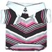 Pink Striped Classic Polo Shirt - hip-claspoloX-7WH