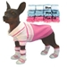 Pink Striped Polo Shirt - pampet-striped-polo