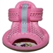 Pink or Blue Mesh Dog Sandals - dsd-sandalsB-LKR