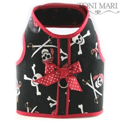 Pirate Skull  Harness Vest