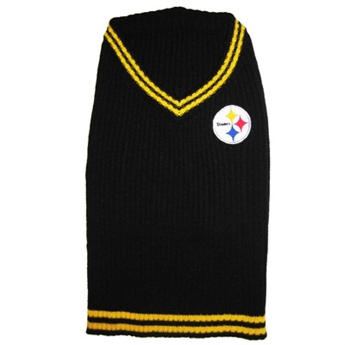 Pittsburgh Steelers Dog Sweater - dn-pitts-sweater