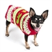 Polar Bear Roll Neck Dog Sweater    - wd-bear-sweater
