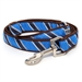 Prep School Blue Dog Collar & Lead  - wd-prepsch-collar