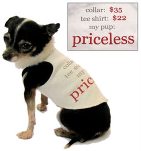 Priceless Dog Tank Top