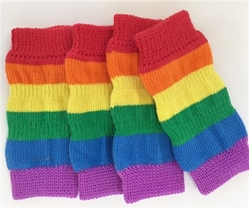 Pride Dog Leg Warmers dog bowls,susan lanci, puppia,wooflink, luxury dog boutique,tonimari,pet clothes, dog clothes, puppy clothes, pet store, dog store, puppy boutique store, dog boutique, pet boutique, puppy boutique, Bloomingtails, dog, small dog clothes, large dog clothes, large dog costumes, small dog costumes, pet stuff, Halloween dog, puppy Halloween, pet Halloween, clothes, dog puppy Halloween, dog sale, pet sale, puppy sale, pet dog tank, pet tank, pet shirt, dog shirt, puppy shirt,puppy tank, I see spot, dog collars, dog leads, pet collar, pet lead,puppy collar, puppy lead, dog toys, pet toys, puppy toy, dog beds, pet beds, puppy bed,  beds,dog mat, pet mat, puppy mat, fab dog pet sweater, dog sweater, dog winter, pet winter,dog raincoat, pet raincoat,