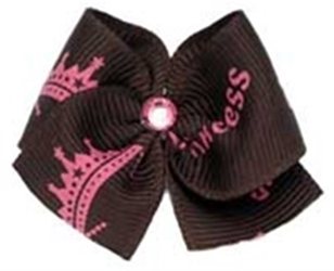 Princess Designer Hair Bow Barrette