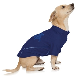 Protective Sun Shirt-Night Navy dog bowls,susan lanci, puppia,wooflink, luxury dog boutique,tonimari,pet clothes, dog clothes, puppy clothes, pet store, dog store, puppy boutique store, dog boutique, pet boutique, puppy boutique, Bloomingtails, dog, small dog clothes, large dog clothes, large dog costumes, small dog costumes, pet stuff, Halloween dog, puppy Halloween, pet Halloween, clothes, dog puppy Halloween, dog sale, pet sale, puppy sale, pet dog tank, pet tank, pet shirt, dog shirt, puppy shirt,puppy tank, I see spot, dog collars, dog leads, pet collar, pet lead,puppy collar, puppy lead, dog toys, pet toys, puppy toy, dog beds, pet beds, puppy bed,  beds,dog mat, pet mat, puppy mat, fab dog pet sweater, dog sweater, dog winter, pet winter,dog raincoat, pet raincoat,